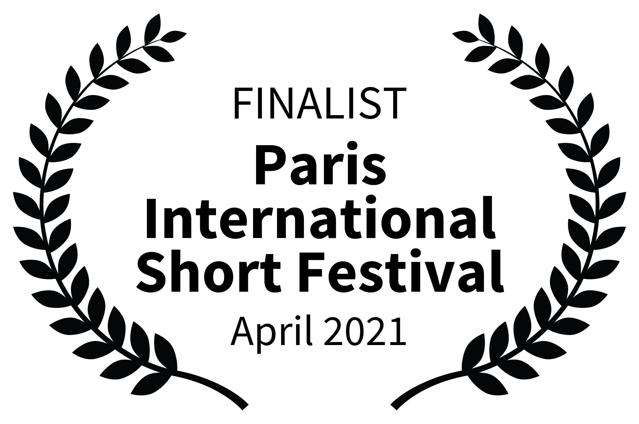 FINALIST-ParisInternationalShortFestival-April2021